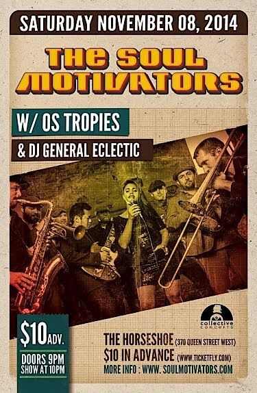 Soul Motivators, Os Tropies @ The Horseshoe, November 8