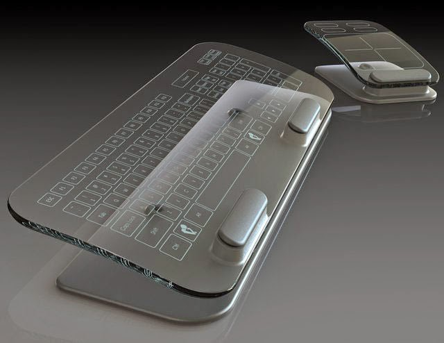 cool unique keyboard design-Cleartouch Multi-Touch Keyboard