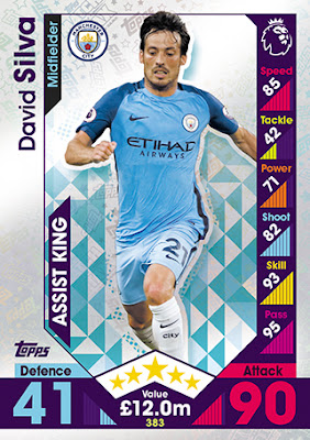 LEI16-17 AHMED MUSA ULLOA LEICESTER CITY.FC STICKER CHAMPIONS LEAGUE 2017 TOPPS
