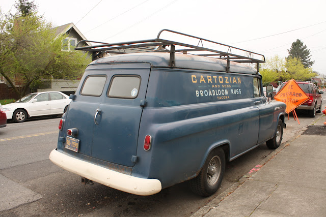 1955 Chevrolet Suburban 3800 Panel Truck Cartozian Rugs.