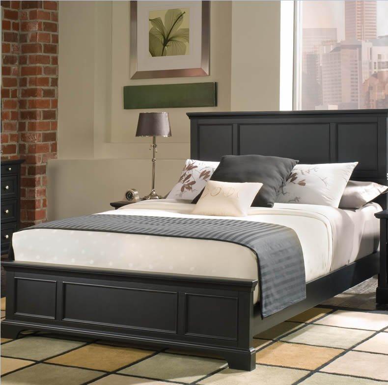 Black Bedroom Furniture Set
