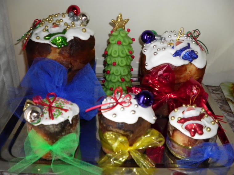 Pan dulces decorados
