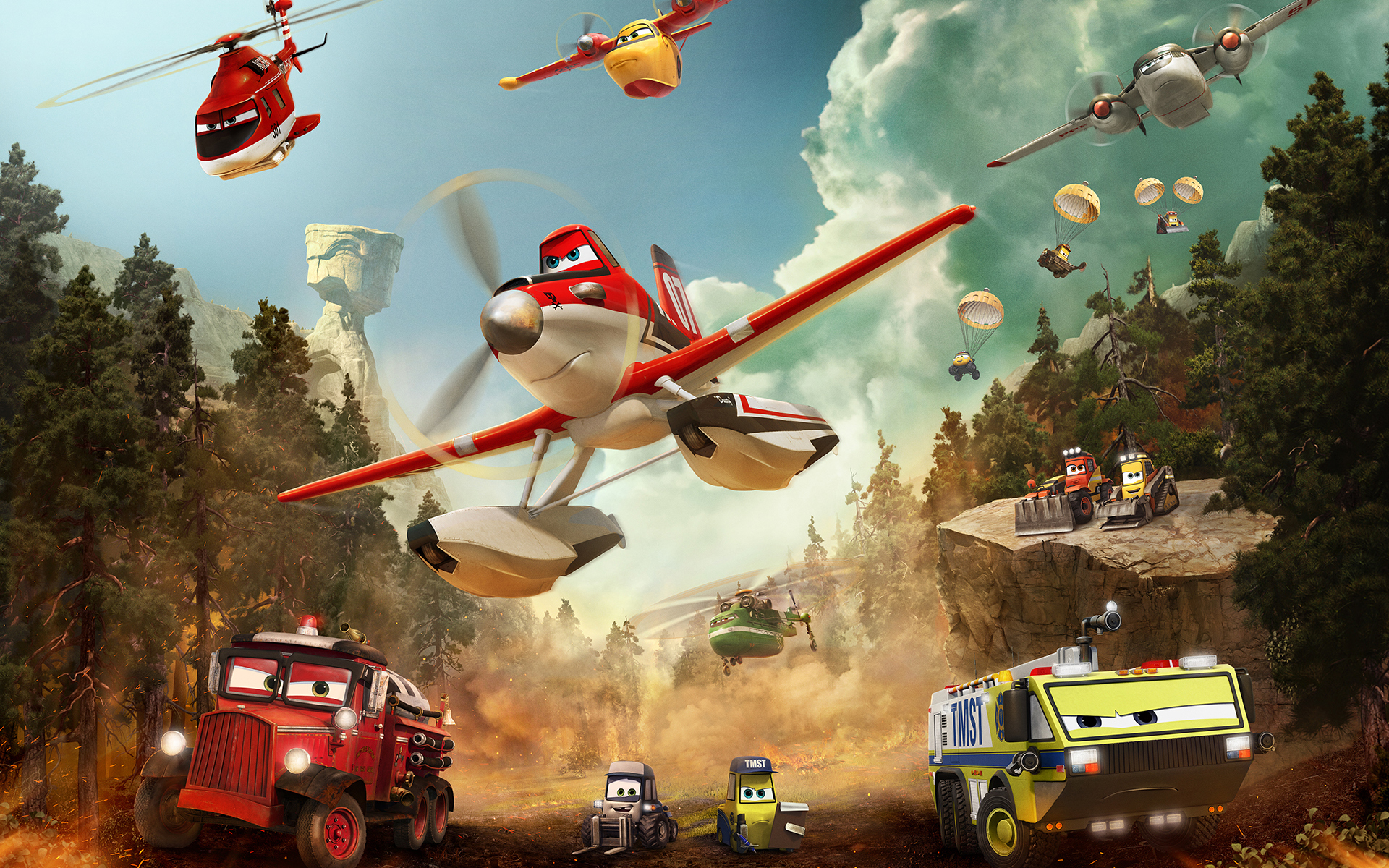 Planes Fire and Rescue Wallpaper HD