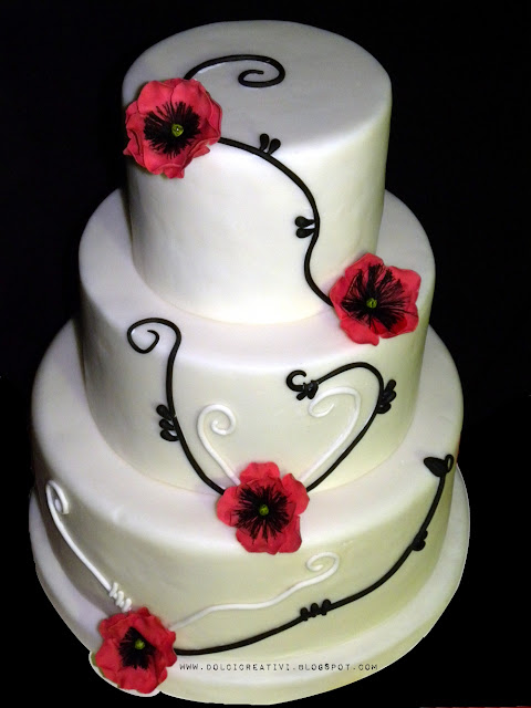 Papaveri Wedding Cake
