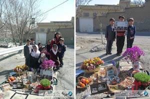 لحظه تحویل سال نو و کودکانی که در مقابل زندان، چشم انتظار پدران خود بودند...