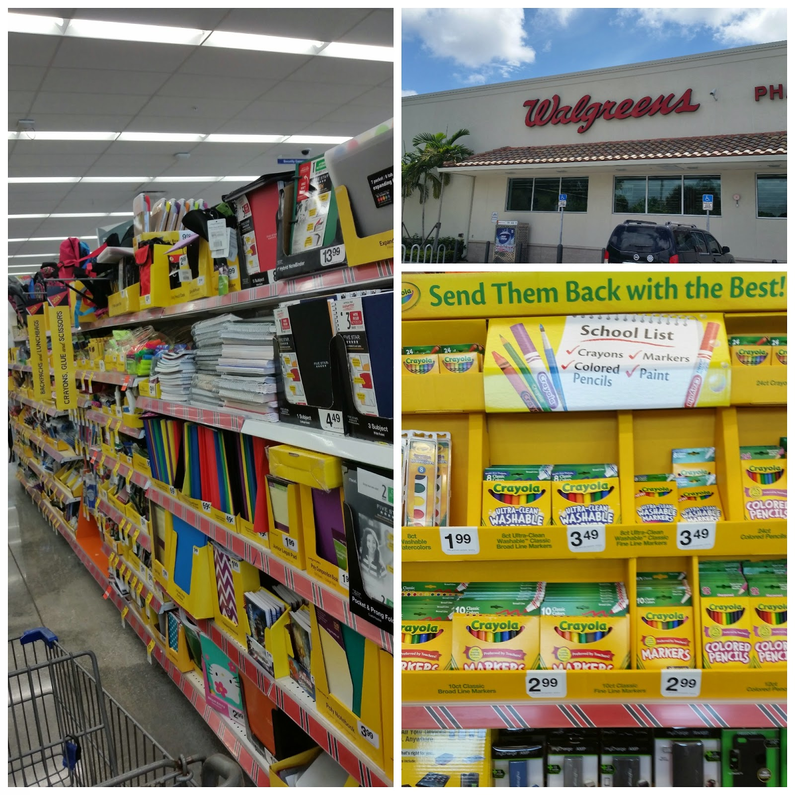 Save on Back to School items at Walgreens #WalgreensPaperless #shop