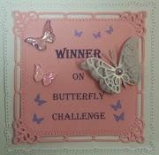 I won Challenge No. 1!