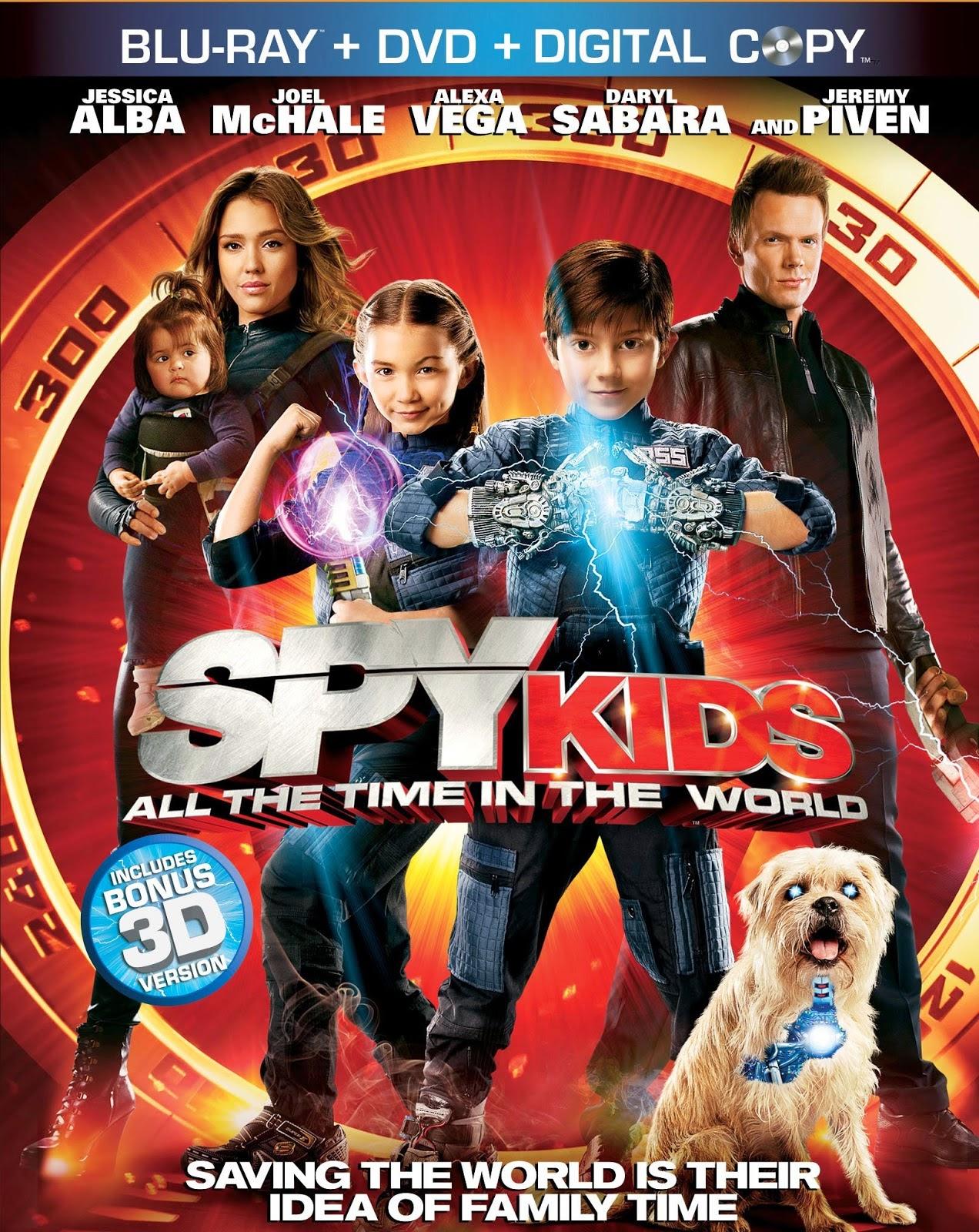 ดู Spy Kids All the Time in the World  ซุปเปอร์ทีมระเบิดพลังทะลุจอ