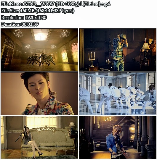 Download MV BTOB (비투비) - WOW (Full HD 1080p)