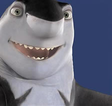 Jack Black Shark Tale animatedfilmreviews.filminspector.com