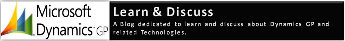Dynamics GP - Learn & Discuss