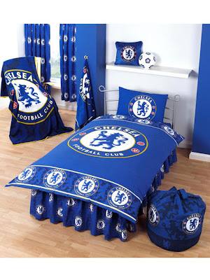 Interior design bedroom Chelsea FC