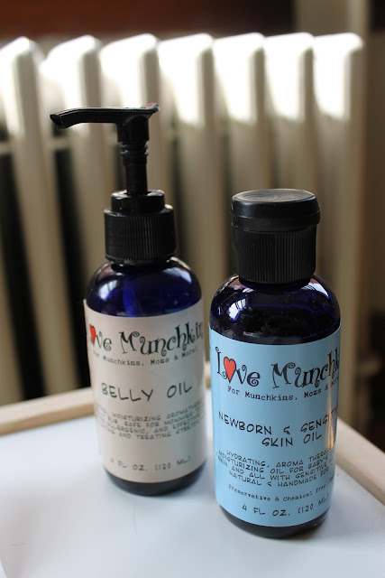 Love Munchkin, Belly Oil, Newborn Sensitive Skin Oil