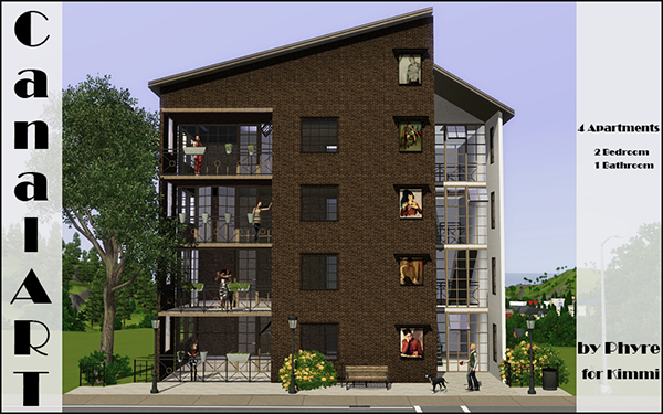sims 2 how to see in apartments