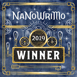 Nanowrimo 2019 Winner!