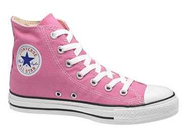 The Scraps Pink All Star Shoes Converse