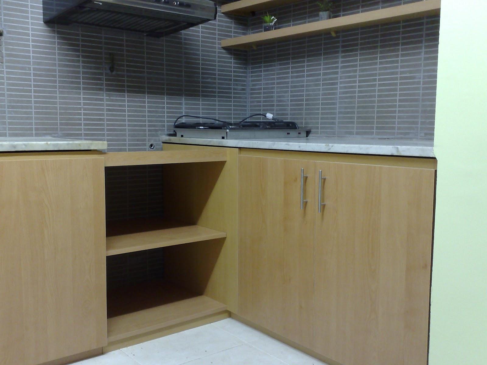 Amoblamientos Cj Bajo Mesada Y Mueble Con Estantes Y Cajones