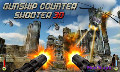 Gunship Counter Shooter 3D 1.1.4 Mod APK (Unlimited Money)