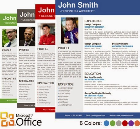 Home Design Ideas. Free Resume Template For Microsoft Word By