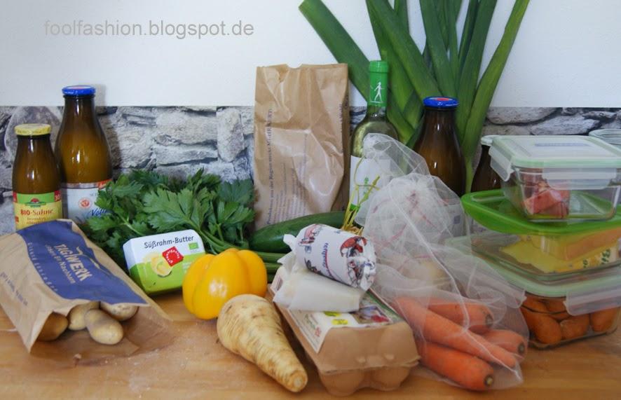 plastic free july - Einkauf Tag 3