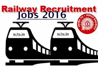 Indian Railway Jobs for year 2018 and 2018