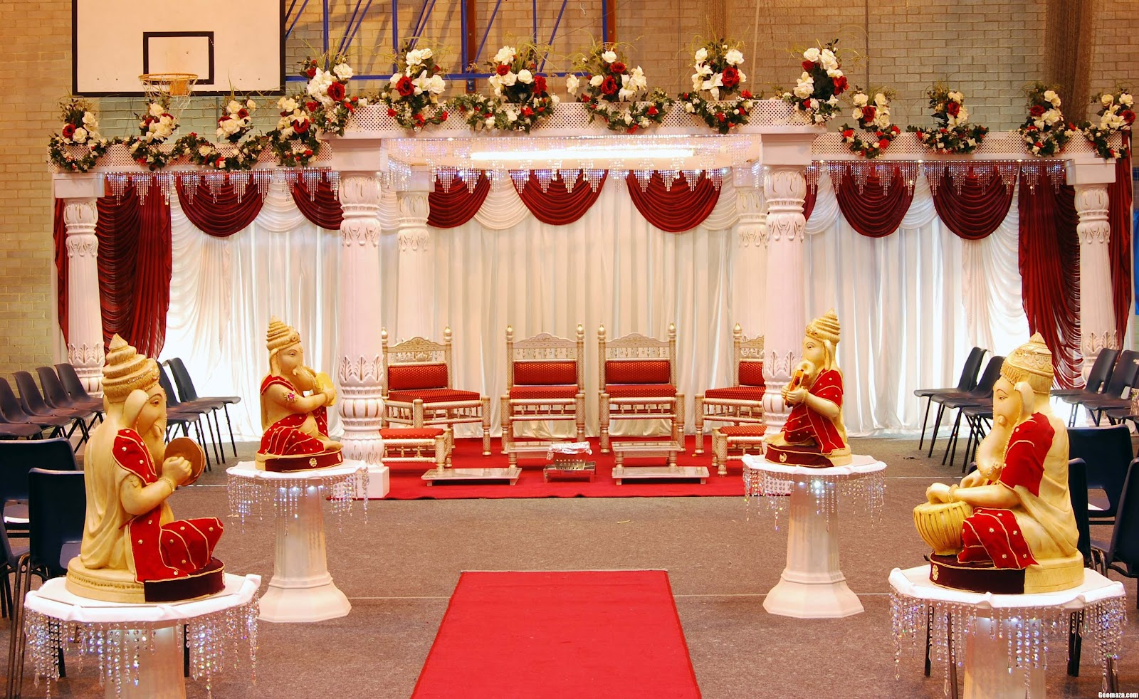 Marriage stage decorations nice for Decoration 4 wedding