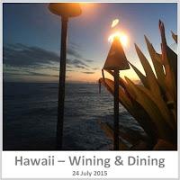 Sydney Fashion Hunter - Wining & Dining Hawaii