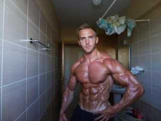 Most ripped fitness model UK Adam Charlton