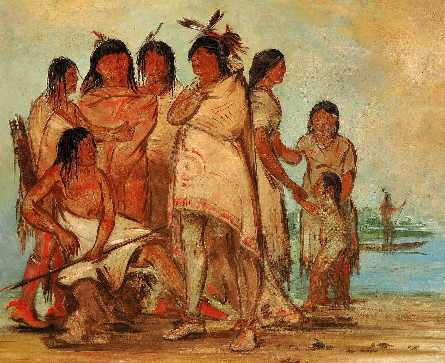 http://2.bp.blogspot.com/-GdjseRYWPnc/UKj2uiU5aaI/AAAAAAABOZE/SEf1vqouM-4/s1600/George+Catlin+(American+artist,+1796-1872)+Du-c%C3%B3r-re-a,+Chief+of+the+Tribe,+and+His+Family.jpg