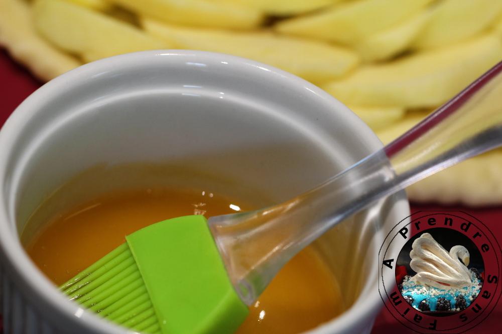 Nappage pour tarte sans sucre de Conticini