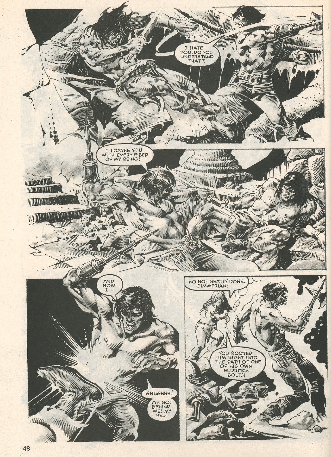 The Savage Sword Of Conan Issue #107 #108 - English 48
