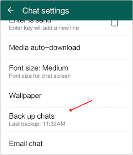 Dual whatsapp ogwhatsapp chat settings