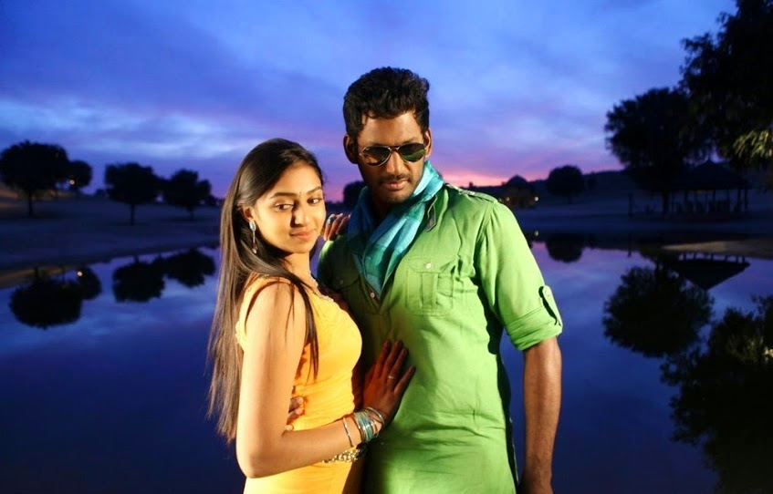 Naan Sigappu Manithan Movie Stills - Cinema65.com Naan Sigappu Manithan Lakshmi Menon Kiss