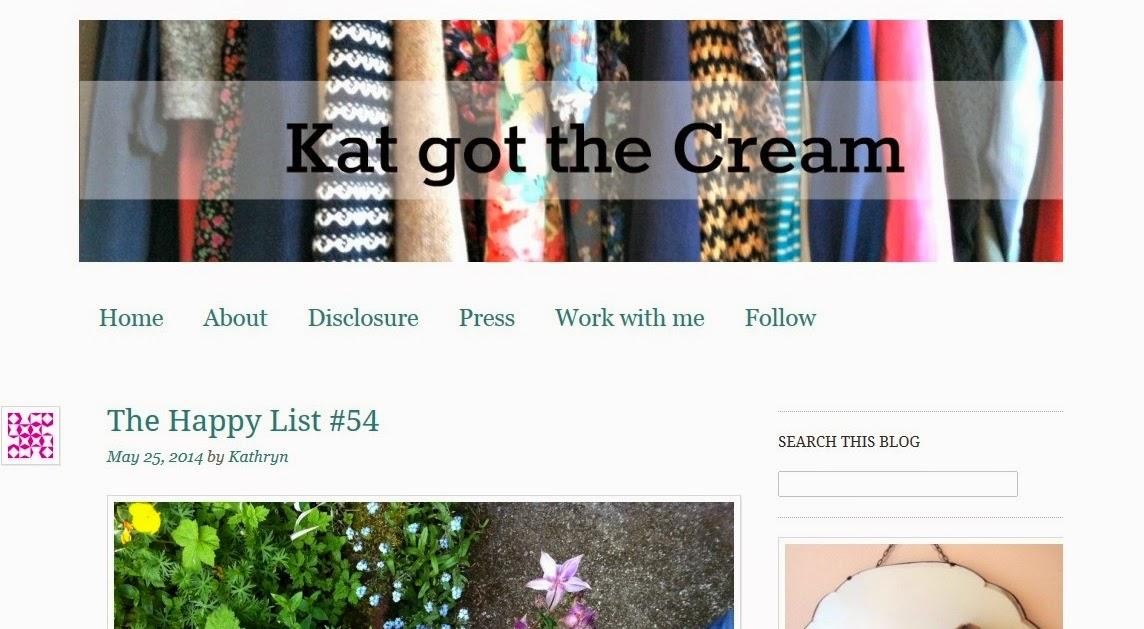 Kat Got The Cream Blog