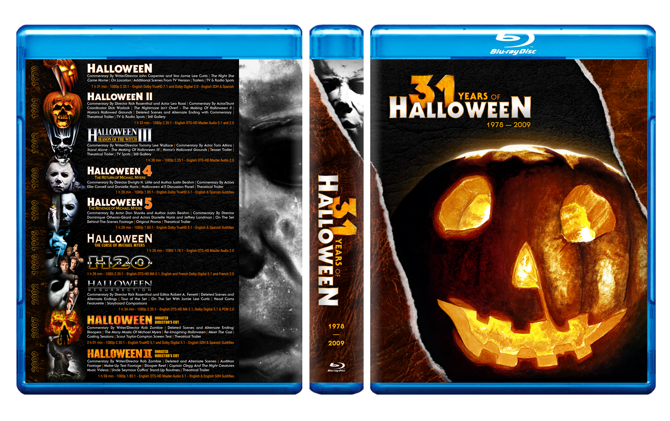 The Horrors of Halloween: The Complete Halloween Blu-ray ...