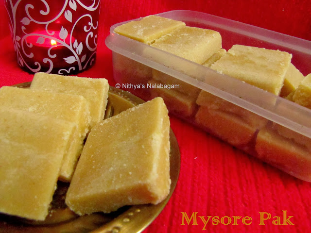Mysore Pak | Diwali Sweet