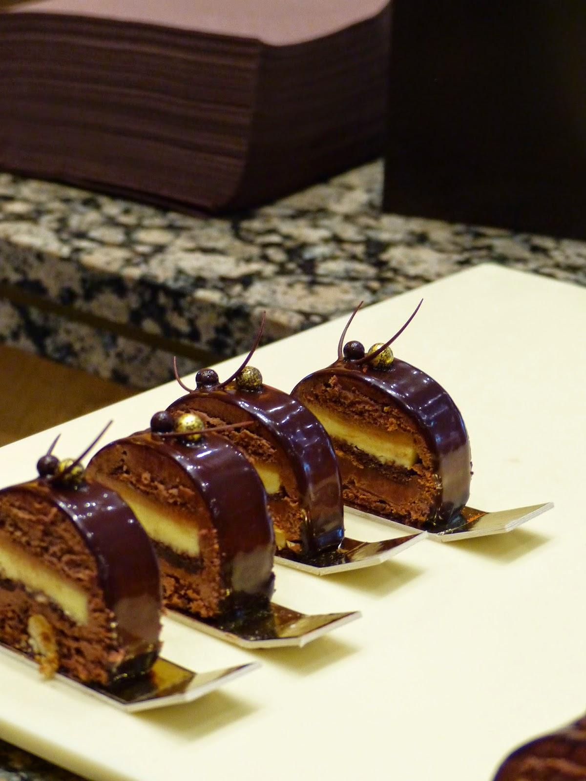 Embout de buche en chocolat