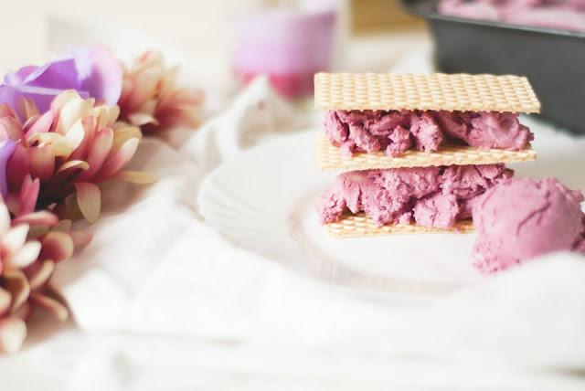 blackberry, ice, cream, food, blog, blogger, uk, recipe, no, churn, easy