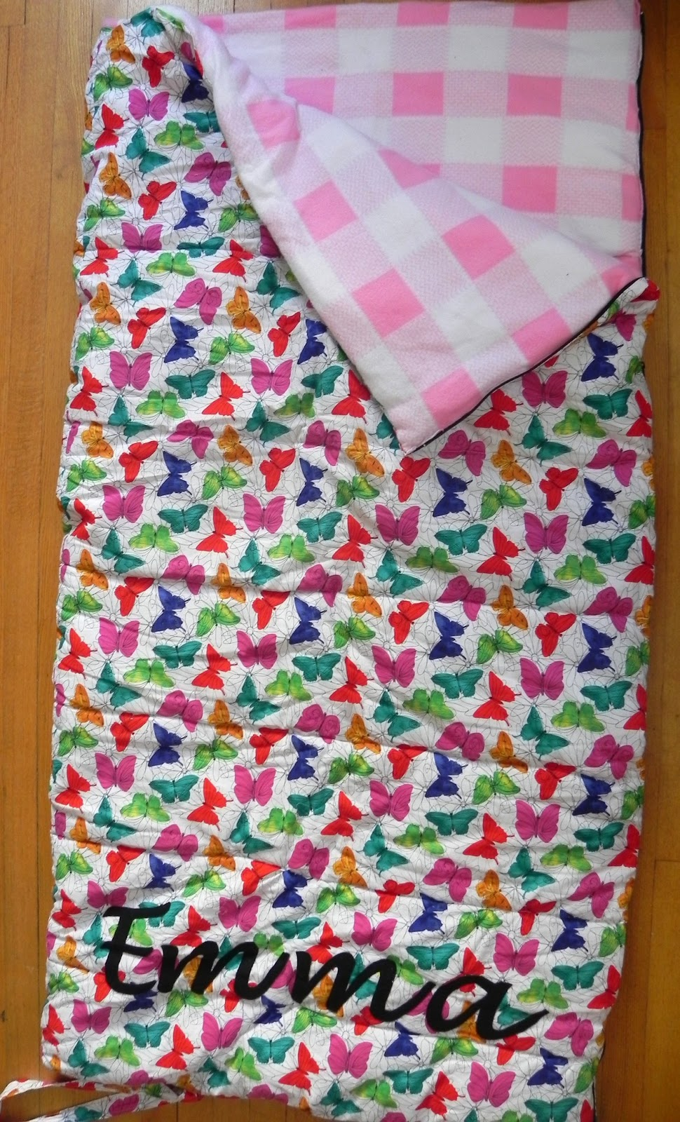 Littlepunkinpie Child Outdoor Sleeping Bag Tutorial