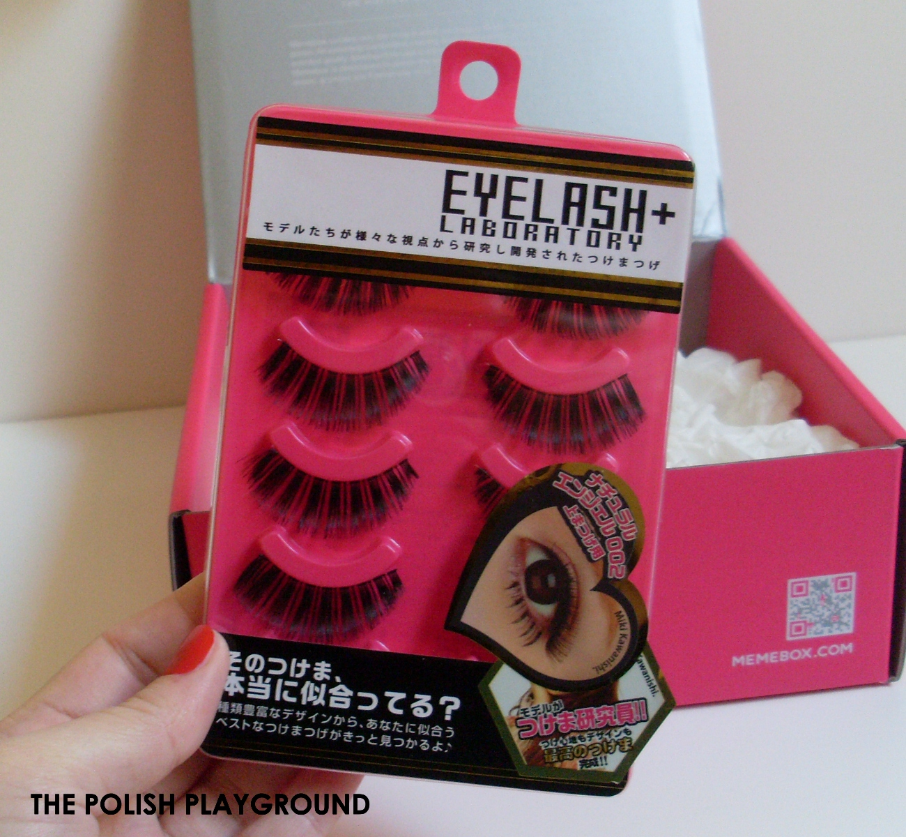Memebox 10 Miniute Box Unboxing - Laboratory Eyelash - 5 Pairs