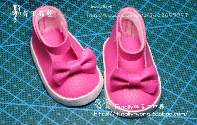 Выкройки туфельки для куклы фото 636