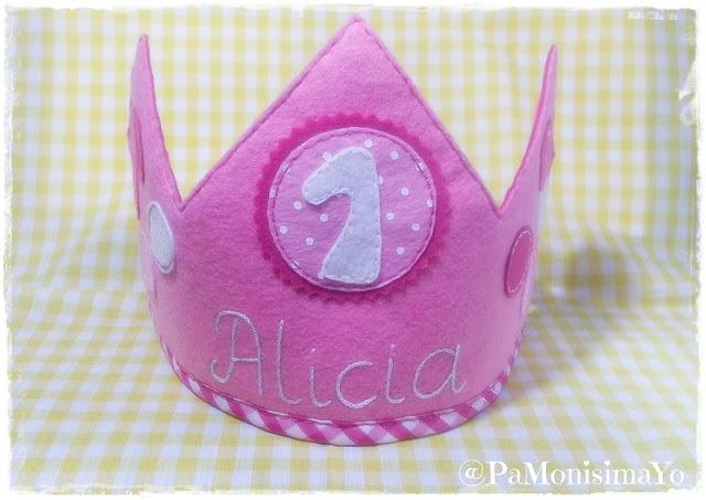 Corona de cumpleaños handmade @pamonisimayo