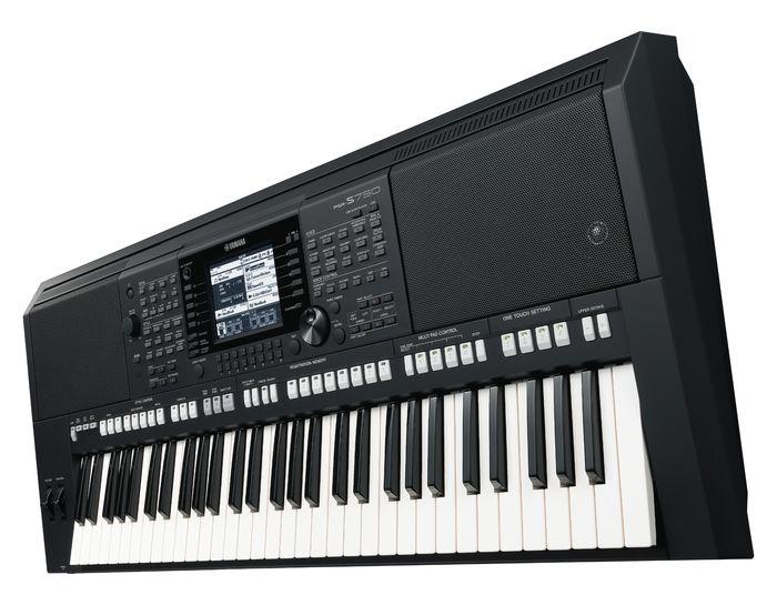 yamaha psr s750 61 key arranger keyboard digital audio. Black Bedroom Furniture Sets. Home Design Ideas