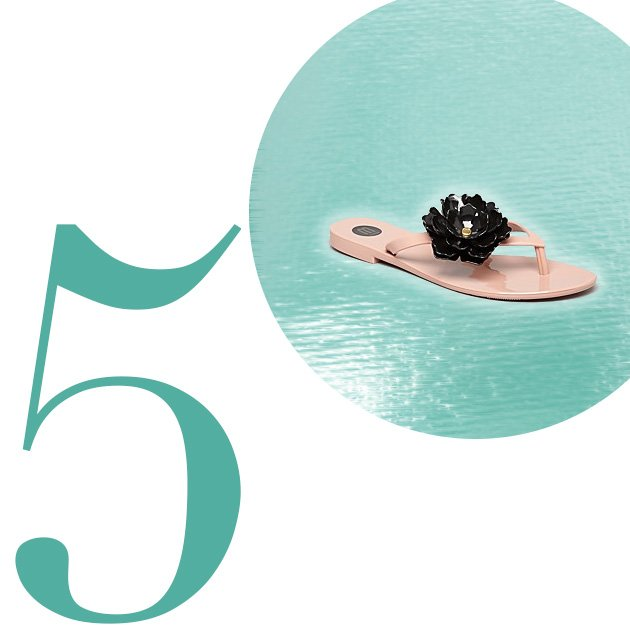 Top 5 Flip-Flops For Summer 2013: Melissa Harmonic Jelly Thong Flip Flops