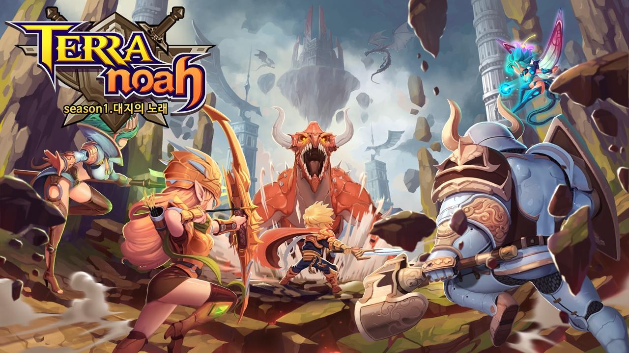 Terra Noah (테라노아) Gameplay IOS / Android