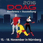 DOAG 2016 Konferenz + Ausstellung