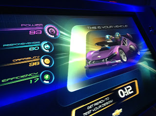 Car at Test Track
