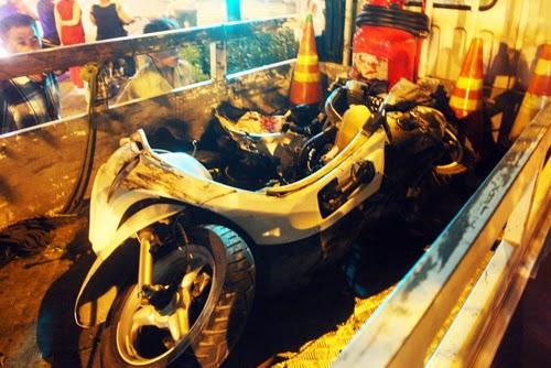 Vụ ô tô điên ở Sài Gòn, 4 người bị nạn