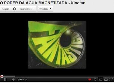 O Poder da Água Magnetizada.