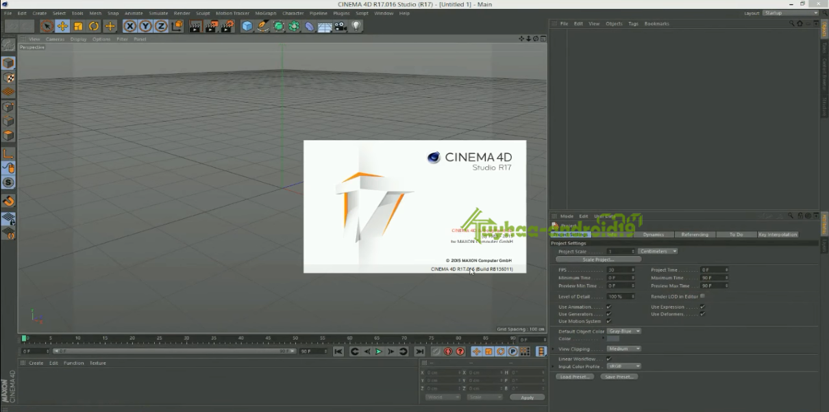 Maxon Cinema 4D R17 HYBRID Multilingual